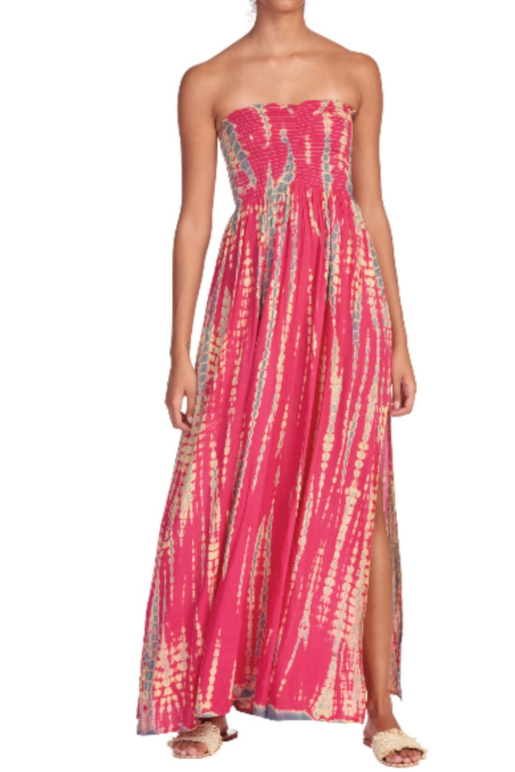 easel Poolside Perfection Dress - Front Full Image