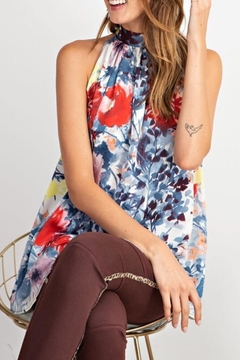 Shoptiques Product: Printed Halter Tunic