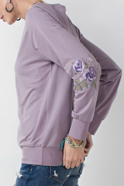 easel Pullover With Embroidery - Front full body