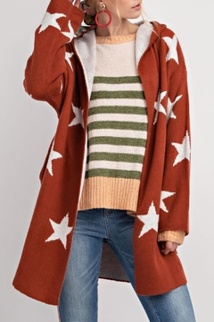 easel Revisible Star Cardigan - Product List Image