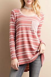 easel Rib Knit Tunic - Product Mini Image