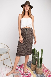 easel Roushed Skirt W/tie - Front cropped
