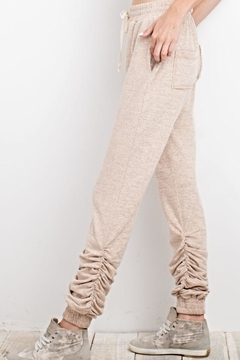 Shoptiques Product: Ruched Ankle Joggers