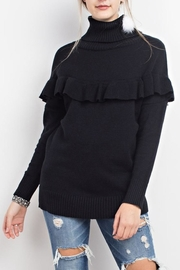 easel Ruffled Sweater - Product Mini Image