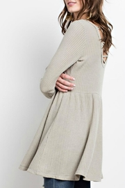 easel Sage Cross-Back Tunic - Back cropped