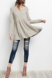 easel Sage Cross-Back Tunic - Front full body