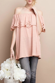 easel Scalloped Crinkle Top - Product Mini Image