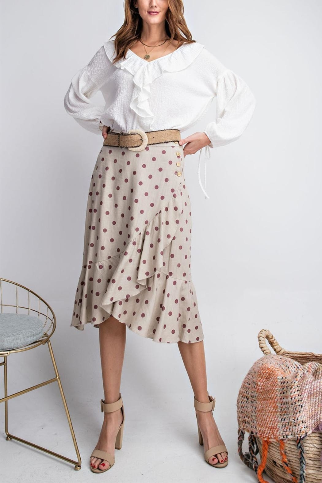 easel Seeing Spots Skirt - Main Image