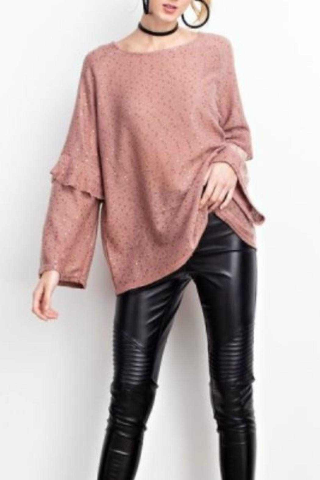 easel Sequin Sweater - Main Image