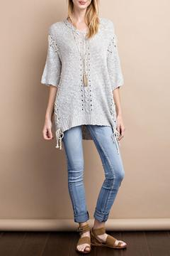 Shoptiques Product: Short Sleeve Knitted Top