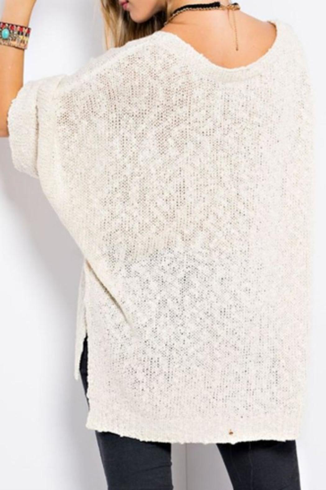 easel Slouchy Pullover Sweater from Portland by EcoVibe Apparel ...
