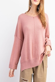 easel Soft Brushed-Knit Sweater - Product Mini Image