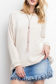easel Soft Pullover Tunic Top - Product Mini Image