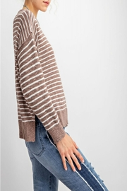 easel Soft Striped Sweater - Side cropped