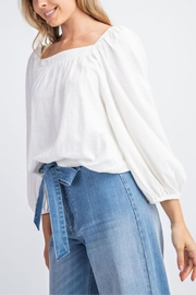 easel Square Neck Top - Front full body