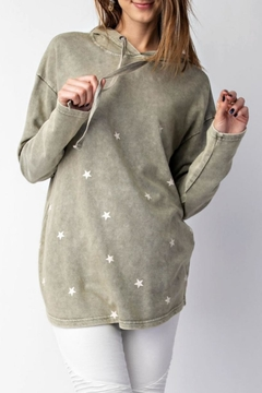 Shoptiques Product: Star Pullover Hoodie
