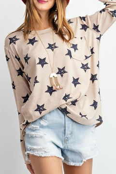 easel Starstruck Longsleeve Top - Alternate List Image