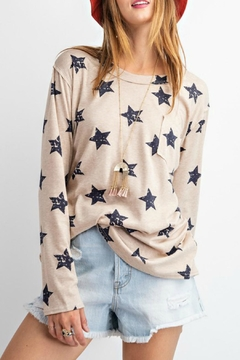 easel Starstruck Longsleeve Top - Product List Image