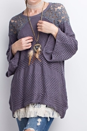 easel Sweater Top - Product Mini Image