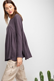easel Swingy Tunic Top - Back cropped