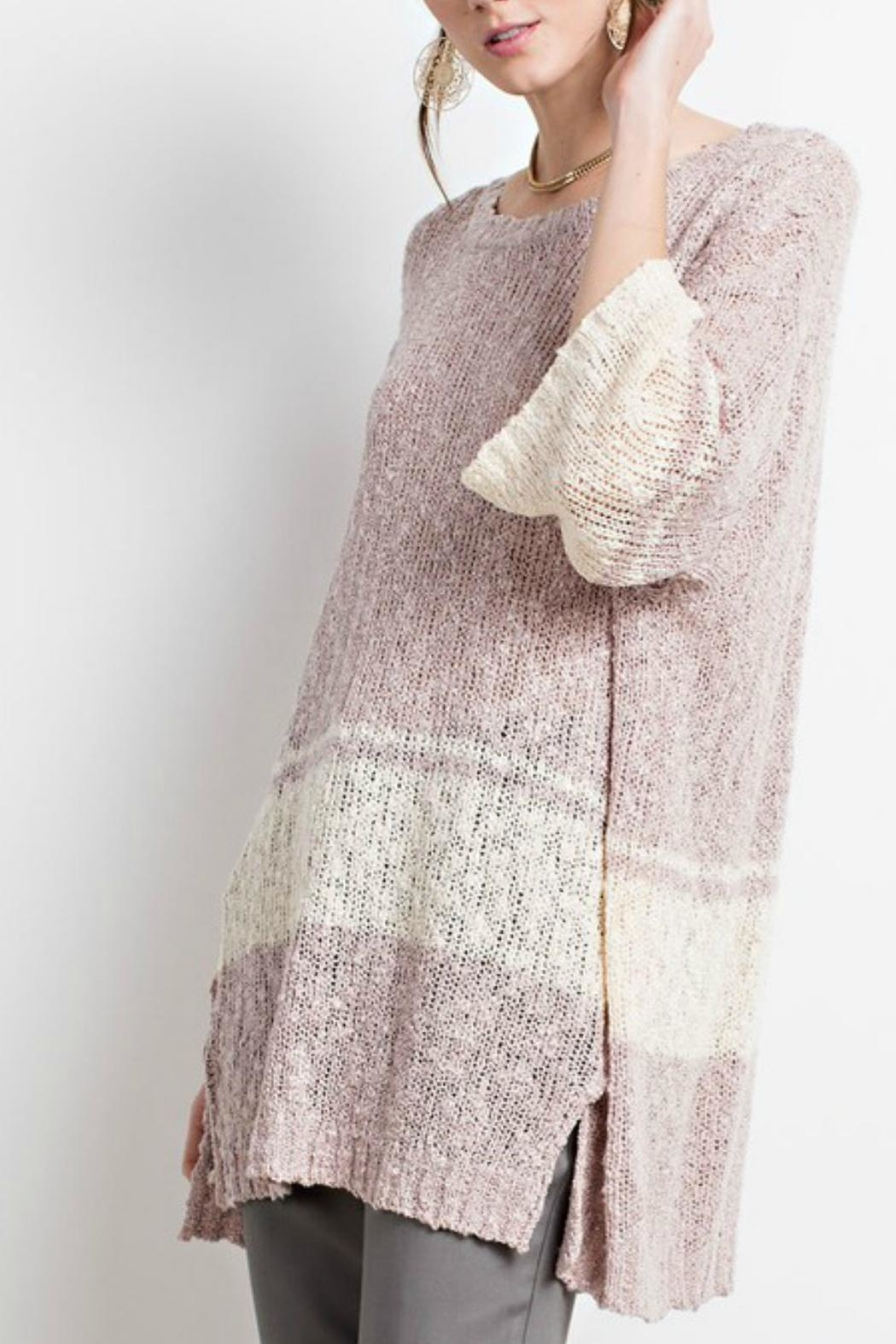 easel The Danielle Sweater-Tunic - Side Cropped Image