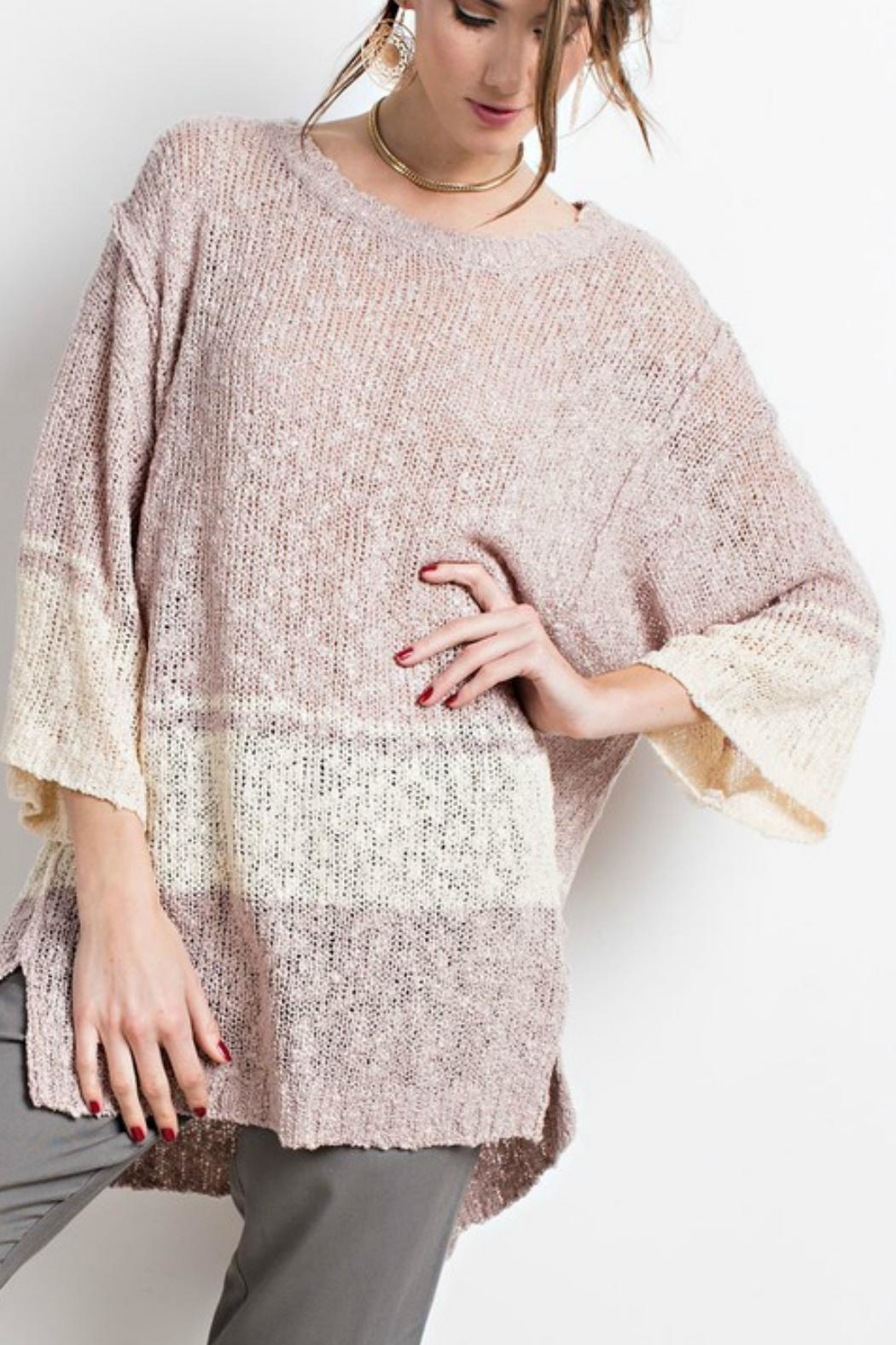 easel The Danielle Sweater-Tunic - Front Full Image