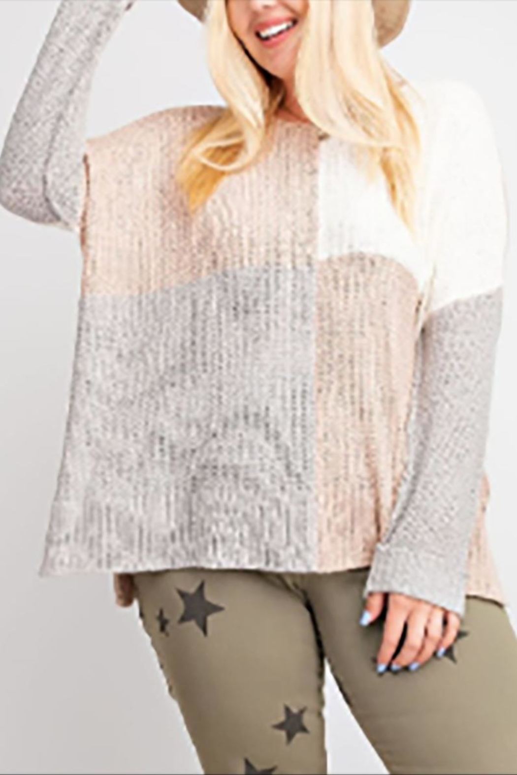 easel The Sutton Sweater - Main Image