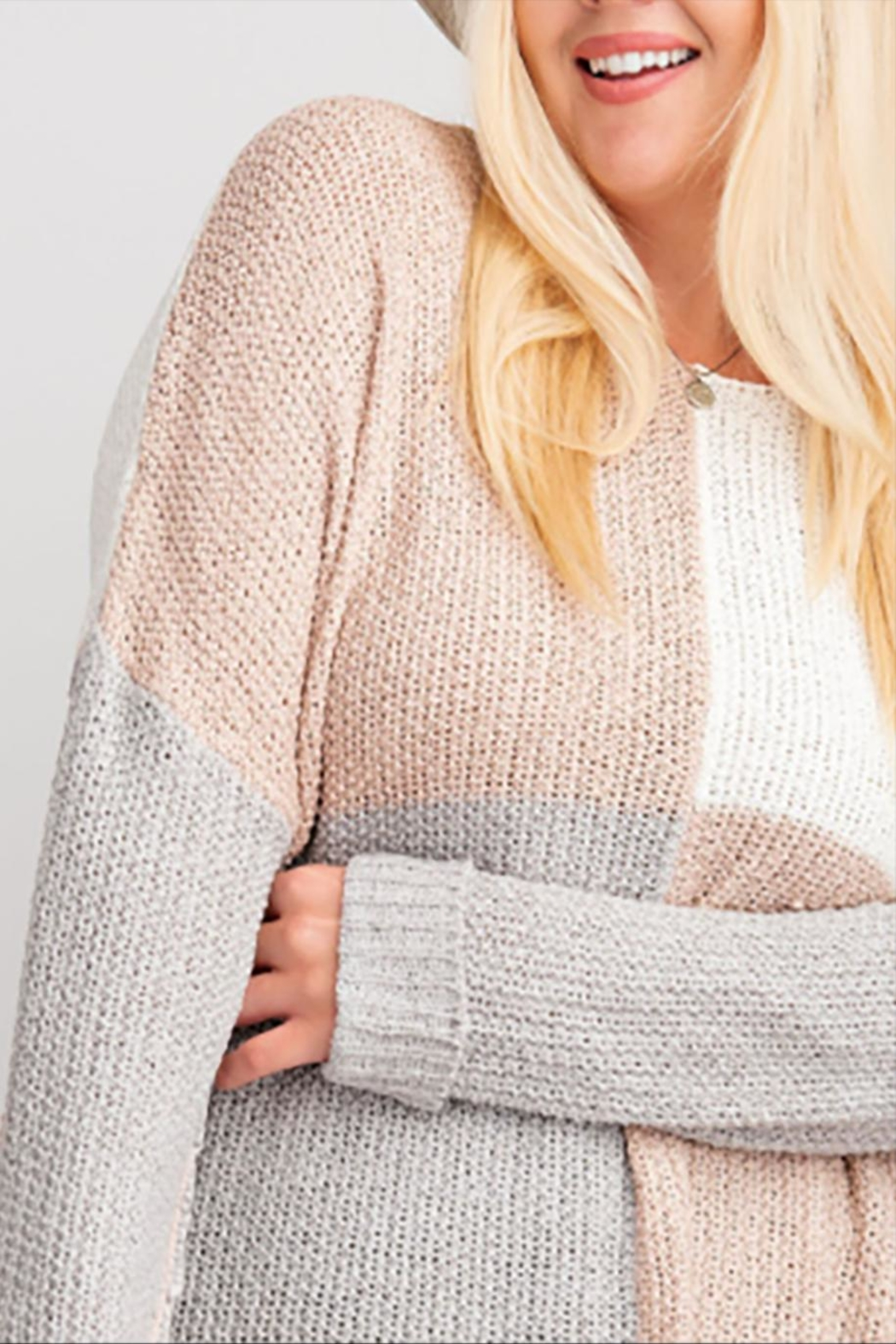 easel The Sutton Sweater - Front Full Image