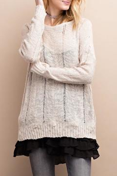 Shoptiques Product: Tie Back Sweater
