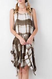 easel Tie Dye Asymmetrical Dress - Product Mini Image
