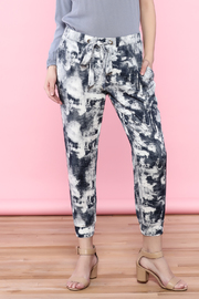 easel Tie Dyed Pants - Product Mini Image