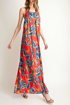 easel Tropical-Print Maxi Dress - Product List Image
