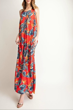 easel Tropical-Print Maxi Dress - Alternate List Image
