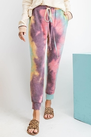 easel Ultra-Soft Tie-Dye Joggers - Product Mini Image