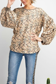 easel Velvet Corduroy Top - Product Mini Image
