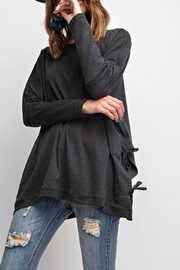 easel Side Tie Tunic - Product Mini Image