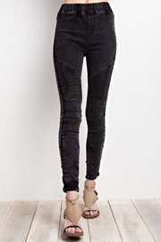 easel Washed Denim Jeggings - Product Mini Image