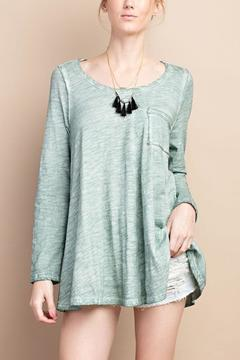 Shoptiques Product: Washed Green Top