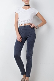 easel Washed Moto Legging - Product Mini Image