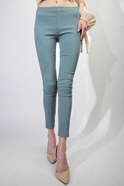 easel Washed Super-Stretch Jegging - Product Mini Image