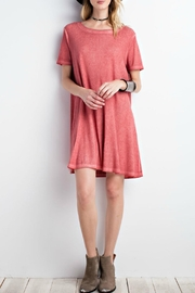 easel Washed T-Shirt Dress - Product Mini Image