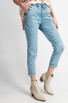 easel Washed Twill Pants - Product List Image