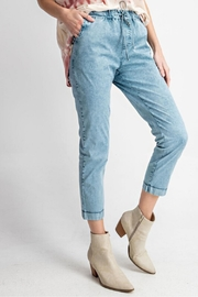 easel Washed Twill Pants - Product Mini Image