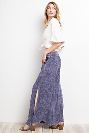 easel Washed Wide-Leg Pants - Back cropped