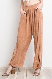 easel Washed Wide-Leg Pants - Other