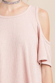 easel X Back Cold-Shoulder - Back cropped