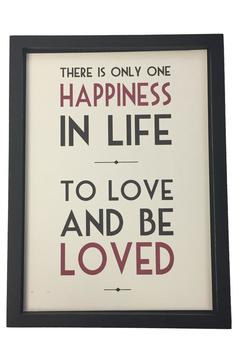Shoptiques Product: Happiness In Life