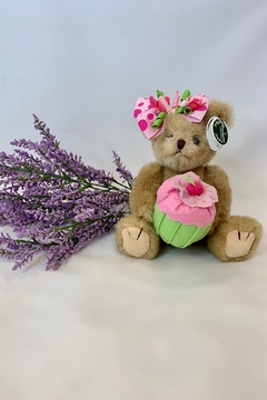Shoptiques Product: Easter bear holding a cupcake