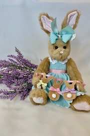 deannas Easter bunny with blue dress - Product Mini Image