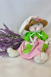 deannas Easter bunny with sun hat - Product Mini Image